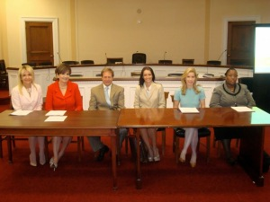 Testifying to support the renewal of the Violence Against Women Act (VAWA)