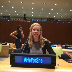 UN He for She Conference